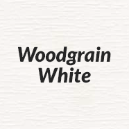 Woodgrain White
